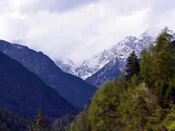 Dolomity, nejvýznamnější masiv italských Alp