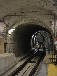 Vjezd do neapolského metra