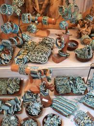 Výrobky zostrova Murano