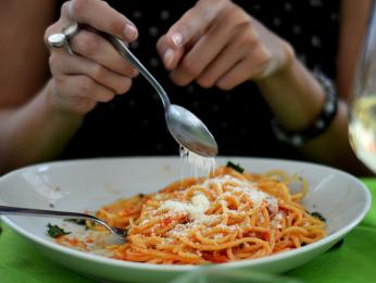 Spaghetti sparmezánem