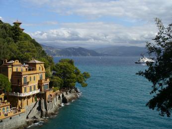 Portofino, jedno znejkrásnějších přímořských měst Ligurie