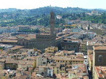 Italská Florencie je hlavním městem Toskánska