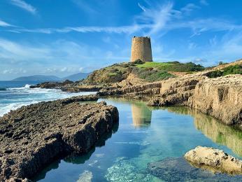 """Nádherná Sardinie je někdy přezdívaná """"Karibik Středomoří"""""""