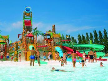 Vodní zábavní park Mirabilandia vRavenně