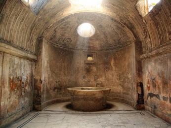 Lázně na Fóru v Pompejích