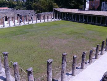 Velká Palestra v Pompejích