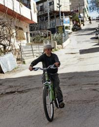 U židovské osady v Hebronu