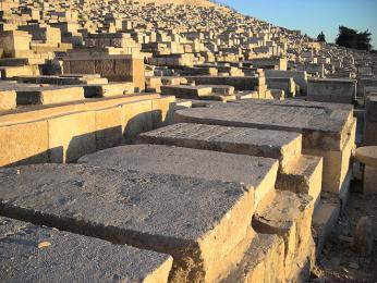 Židovské hroby na Olivové hoře