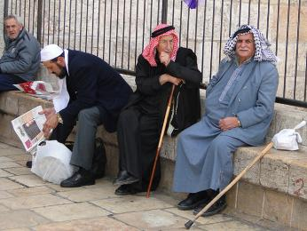 Všední den u Damašské brány