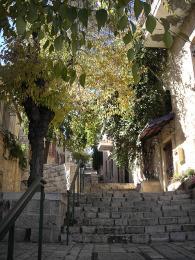 Uličky ve čtvrti Yamin Moshe