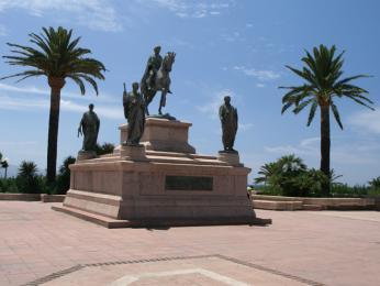 Památník korsickému rodáku Napoleonovi