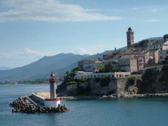 Bastia - nejstarší část Terra Vecchia