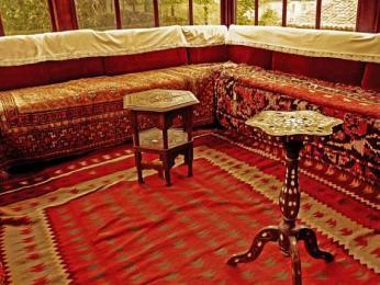 Etnologické muzeum je umístěno vkrásném osmanském domě