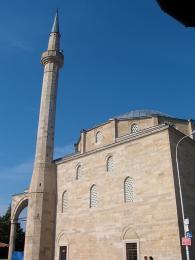 Sultánova mešita je největší mešitou ve městě