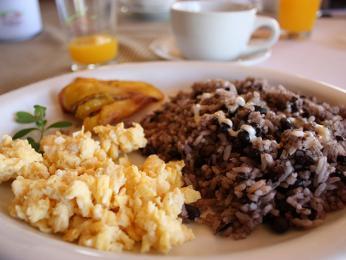 Gallo pinto je nejtypičtější kostarický pokrm