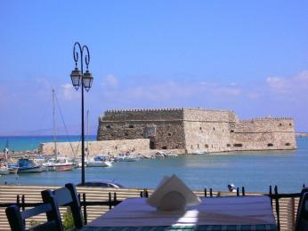 Pevnost Kules ve městě Iráklio na ostrově Kréta