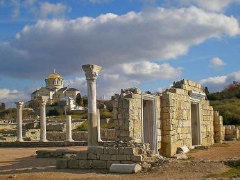 Chersonésos patří mezi největší antické památky na Krymu