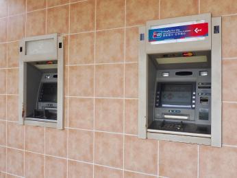 Bankomaty najdete na Kubě vkaždém větším městě