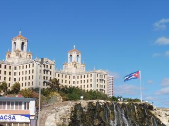 Hotel Nacional vHavaně bývá spojován skubánskou mafií