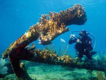 V okolí Isla de la Juventud najdete pod hladinou vraky potopených lodí