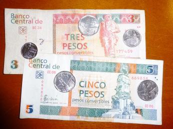 Uměle vytvořenou měnou peso convertible platili donedávna turisté