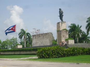 Památník Ernesta Che Guevary ve městě revoluce Santa Clara