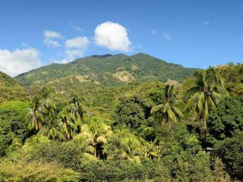 Pohoří Sierra Maestra poskytlo vminulosti úkryt mnoha revolucionářům