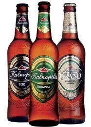 Velmi rozšířenou značkou piva je Kalnapilis