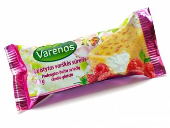 Tvarohová pochoutka varškės sūrelis se vyrábí ve všech možných příchutích