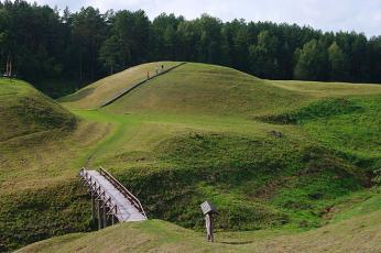 Hradiště u Anykščiai je mnohými považováno za bájné hl. město Voruta