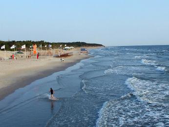 Průměrné teploty Baltského moře v létě dosahují pouhých 18 °C