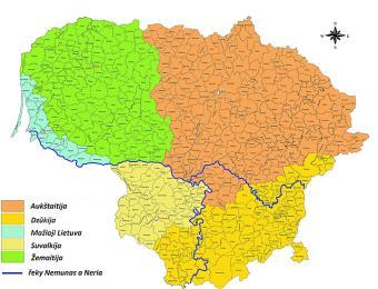Etnografické regiony Litvy