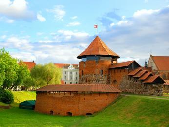 Středověký hrad v Kaunasu