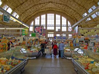 Centrální tržnice je jedním znejvětších tržišť v Evropě