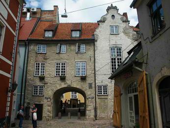 Švédská brána je jedinou zachovalou městskou bránou