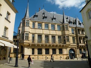 Velkovévodský palác je od 19.století oficiálním sídlem lucemburského velkovévody