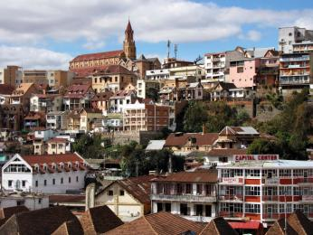 Antananarivo je hlavní město Madagaskaru