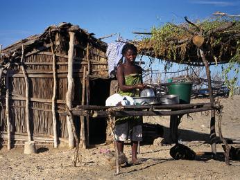 Kuchyně snů - na sluníčku a čerstvém vzduchu