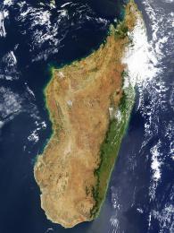 Madagaskar zoběžné dráhy