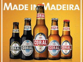 Pivo značky Coral se vyrábí ve Funchalu