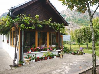 Dům Baby Vangy poblíž bulharské vesnice Rupite