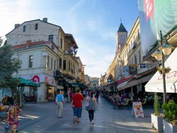 Centrum Bitoly, třetího největšího makedonského města