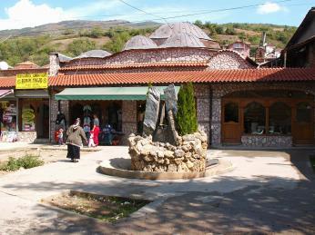 Debar – albánské město vMakedonii