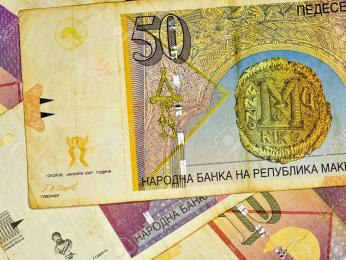 Měnou Severní Makedonie je makedonský denár