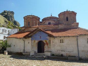 Klášter Treskavec slouží také jako ubytovna
