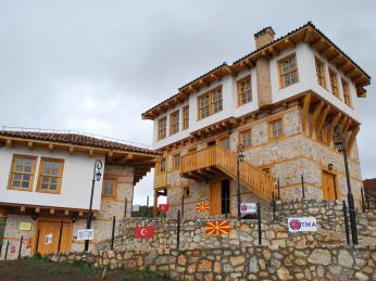 Dům ve vesnici Kodžadžik, kde vyrůstal Mustafa Kemal