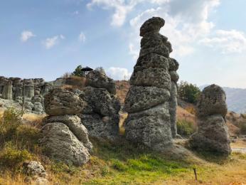 Skalní město Kuklite vzniklo větrnou erozí