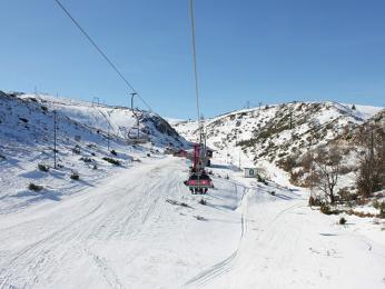 Oblíbené lyžařské středisko nad Mavrovem