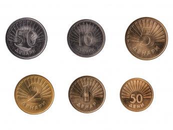 Makedonské mince
