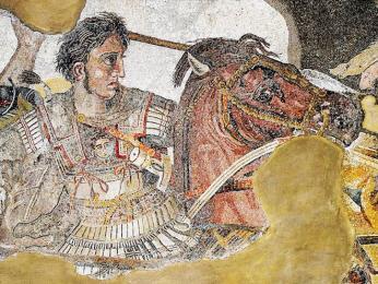 Slavný válečník Alexandr Veliký
